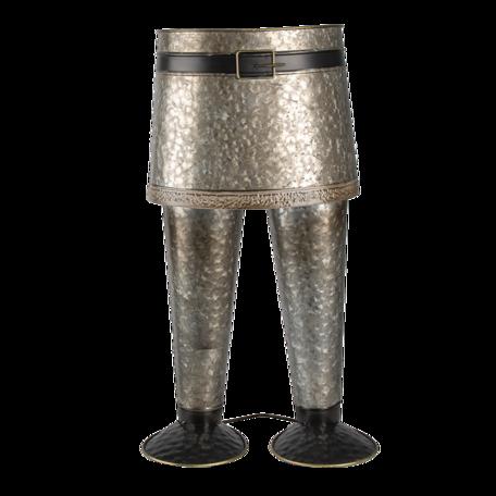 Bloempot houder 22*15*40 cm Grijs | 5Y0951 | Clayre & Eef