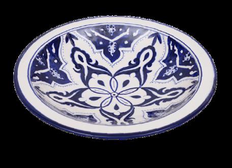 Salade schaal Blue Fond Ø 30 cm   SOR.BLF.30   Dishes & Deco