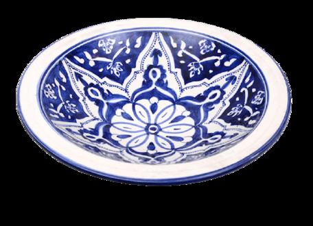 Salade schaal Blue Fond Ø 35 cm   SOR.BLF.35   Dishes & Deco