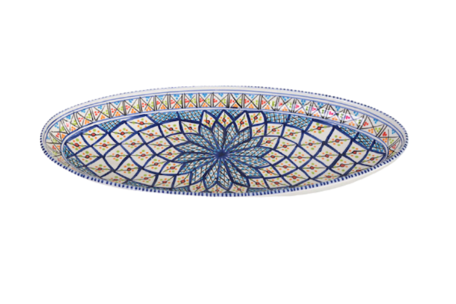 Ovale schaal Shebka 50 cm | OS.AE.50 | Dishes & Deco