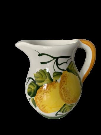Water- wijn Kan citroen en olijf groot 20 cm hoog 1,8 liter | KCIP01 | Piccobella