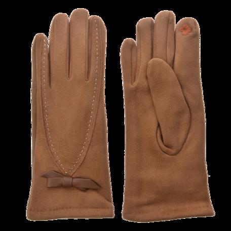 Handschoenen 8*24 cm Bruin | JZGL0032 | Clayre & Eef