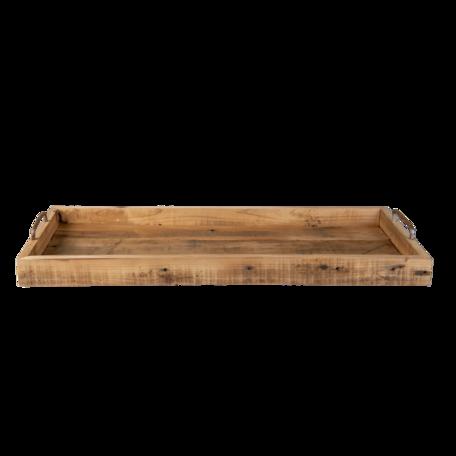Dienblad 70*31*7 cm Bruin | 5H0508 | Clayre & Eef