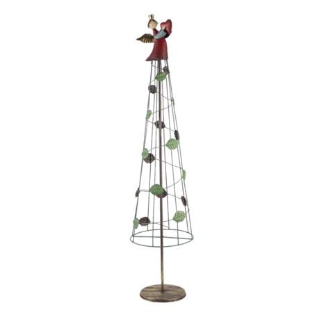 Decoratie kerstboom ø 25*110 cm Goudkleurig | 5Y0940 | Clayre & Eef