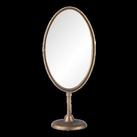 Tafelspiegel 17*12*40 cm Koperkleurig   62S225   Clayre & Eef