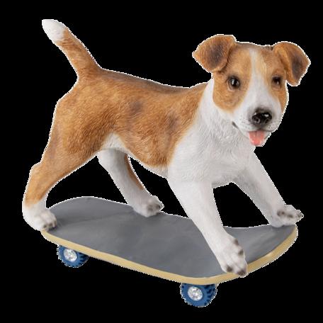 Decoratie hond 18*9*18 cm Multi | 6PR3349 | Clayre & Eef