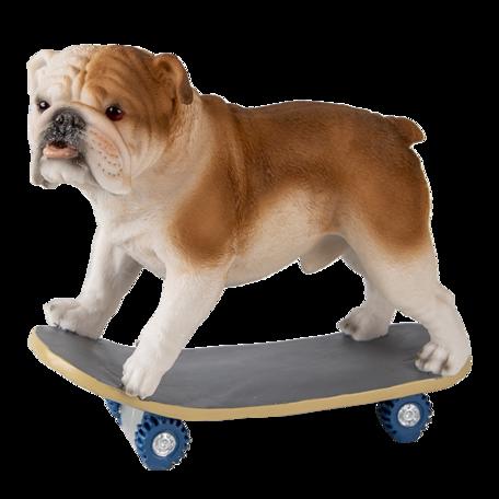 Decoratie hond 18*10*16 cm Multi | 6PR3350 | Clayre & Eef