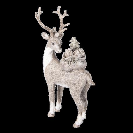 Decoratie hert 15*9*26 cm Multi | 6PR4606 | Clayre & Eef