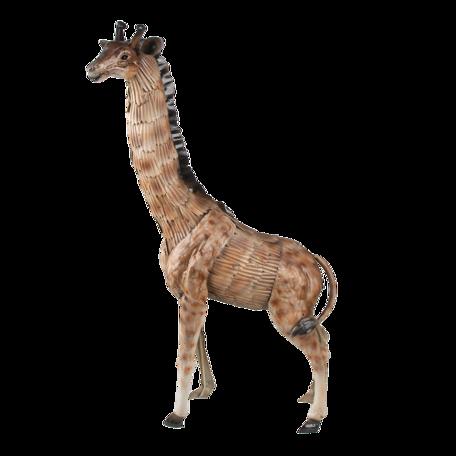 Decoratie giraf 37*14*59 cm Grijs | 6Y4427 | Clayre & Eef