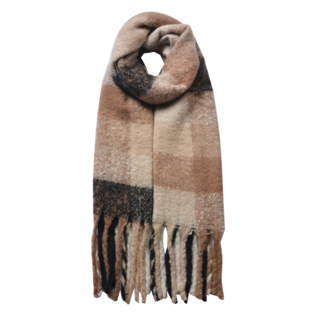 Sjaal 50*180 cm Beige | JZSC0478KH | Clayre & Eef