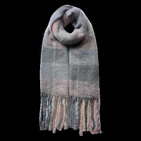 Sjaal 50*180 cm Roze | JZSC0478P | Clayre & Eef