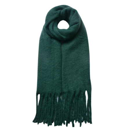 Sjaal 50*180 cm Groen | JZSC0479GR | Clayre & Eef