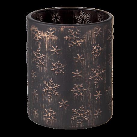 Waxinelichthouder ø 10*13 cm Goudkleurig   6GL3236   Clayre & Eef