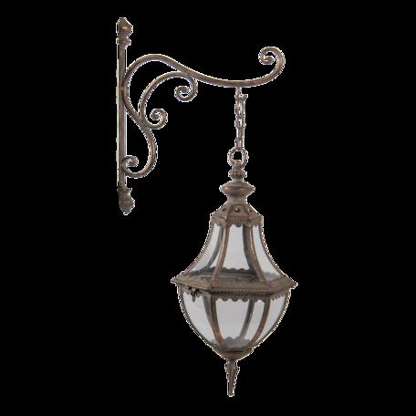 Wand lantaarn 21*34*73 cm Koperkleurig | 5Y0934 | Clayre & Eef