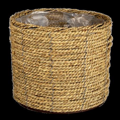 Planthouder ø 26*21 cm Bruin | 64849 | Clayre & Eef