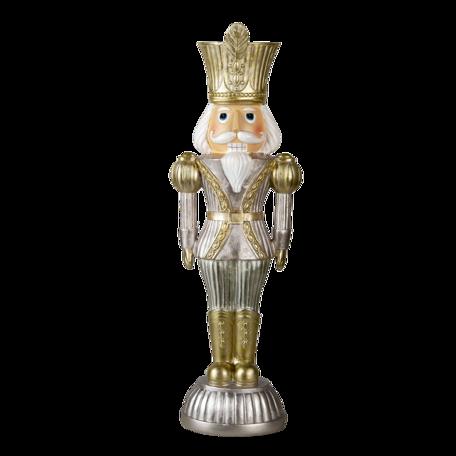 Decoratie notenkraker 15*9*47 cm Goudkleurig | 6PR3417 | Clayre & Eef