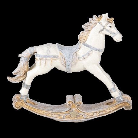 Decoratie hobbelpaard 16*4*14 cm Multi | 6PR4657 | Clayre & Eef