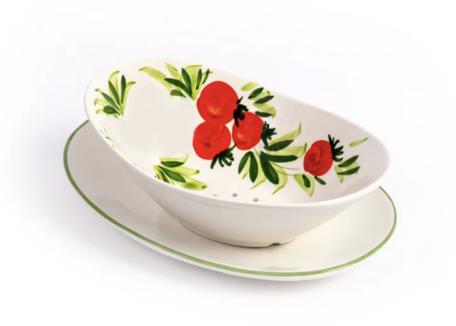 Uitlekschaal tomaat mozzarella | PM01 | Piccobella