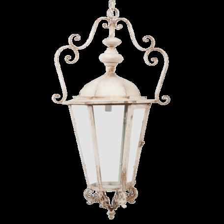 Hanglamp 54*44*95 cm E14/max 1*25W Wit   5LMP220   Clayre & Eef