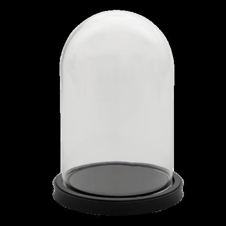Stolp ø 17*25 cm Zwart | 6GL3365 | Clayre & Eef