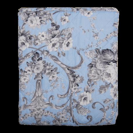 Bedsprei 240*260 cm Blauw   Q192.061   Clayre & Eef