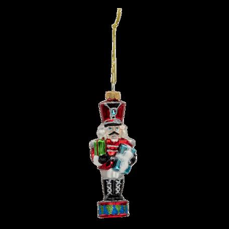 Kerstbal notenkraker 5*4*15 cm Multi | 6GL3323 | Clayre & Eef