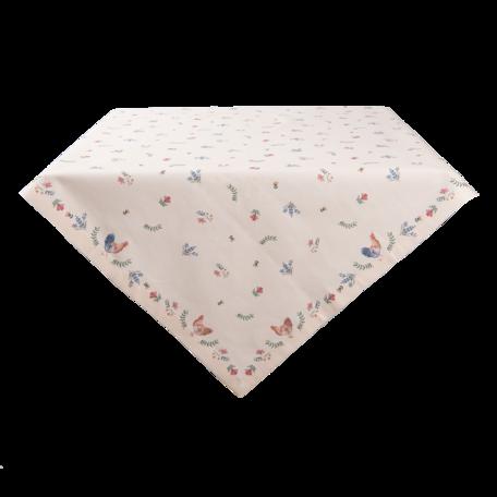 Tafelkleed 100*100 cm Creme | CAR01 | Clayre & Eef