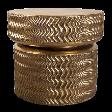 Bijzettafel ø 58*52 cm Goudkleurig | 5Y0957 | Clayre & Eef