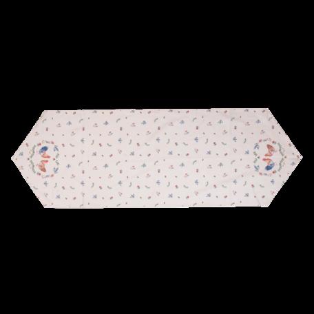 Tafelloper 50*160 cm Creme | CAR65 | Clayre & Eef