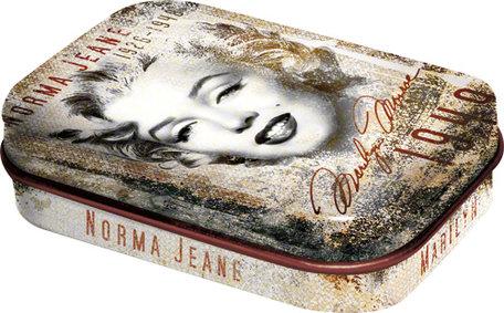 Mint box Marilyn Monroe Portrait collage | Nostalgic Art