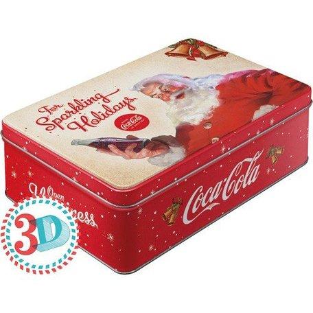 Coca Cola kerst bewaardoos 3d | Nostalgic Art