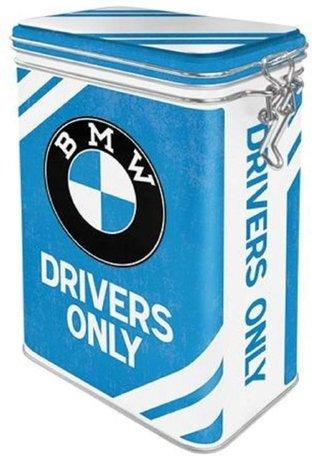 BMW Garage metalen 3d blik L   Nostalgic Art