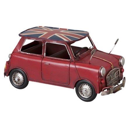 Modelauto mini cooper rood 6Y1099 | Clayre & Eef