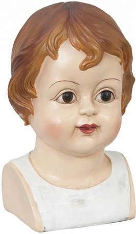 Kinderhoofd jongen 26 x 17 | 6PR0298 | Clayre & Eef