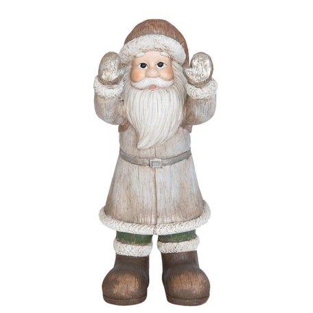 Kerstman 47 cm 6PR0788 | Winter & Kerst decoratie | Clayre & Eef