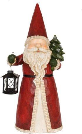 Kerstman met lantaarn 52 cm | 6PR0608 | Winter & Kerst | Clayre & Eef