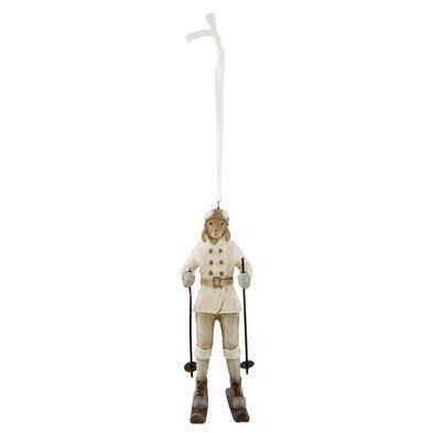 Hanger hond op ski | 6PR2264 | Clayre & Eef