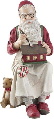Werkende kerstman | 6PR1132 | Winter & Kerst | Clayre & Eef