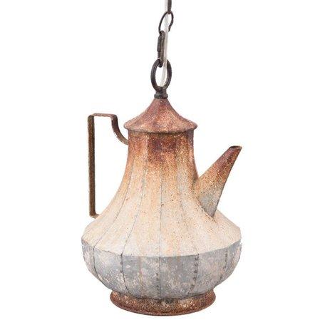 Hanglamp koffiepot | Clayre & Eef