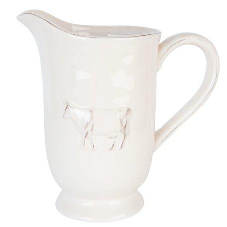 Kan keramiek met koe | Clayre & Eef