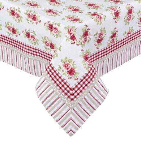Tafelkleed 150*150 cm Rood | GAR15 | Clayre & Eef