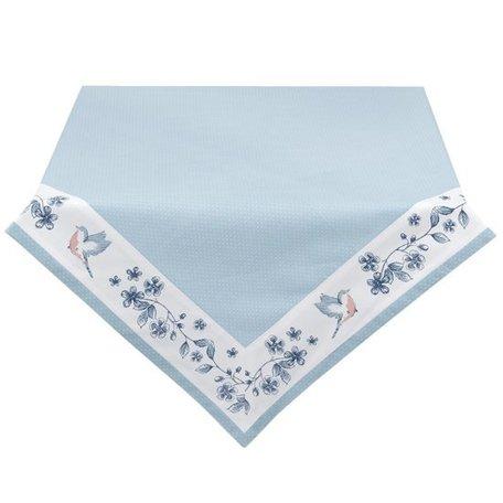 Tafelkleed 150*150 cm Blauw | EBI15 | Clayre & Eef