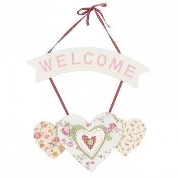 Hanger welcome/hart