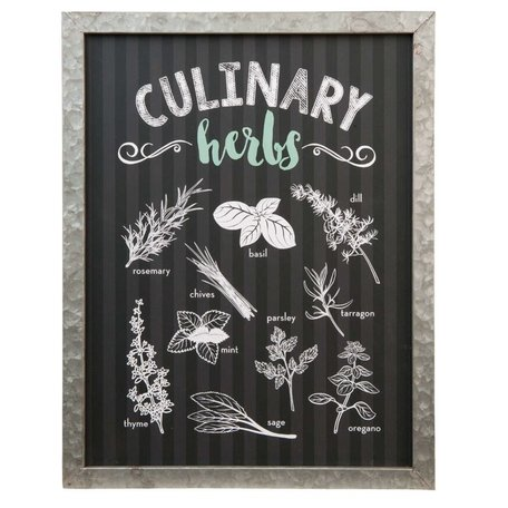 Tekstbord Culinary herbs | Clayre & Eef
