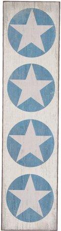 Schilderij / Houten bord sterren | 5H0213 | Clayre & Eef