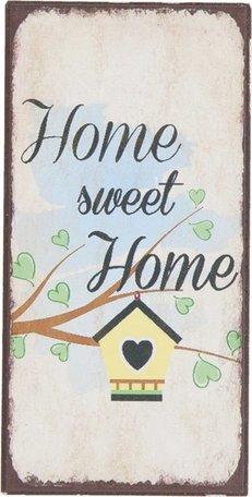 Tekst magneet home sweet home 5 x 10 cm | 6Y1929 | Clayre & Eef