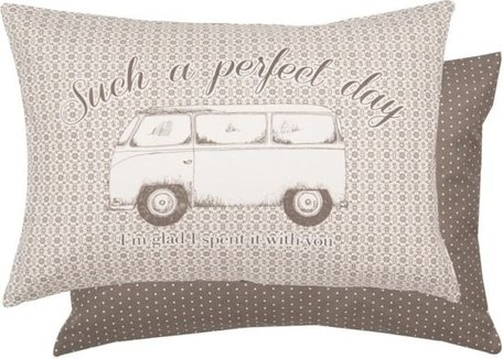 Kussen incl. vulling perfect day... 35 x 50  cm | MLH36 | Clayre & Eef