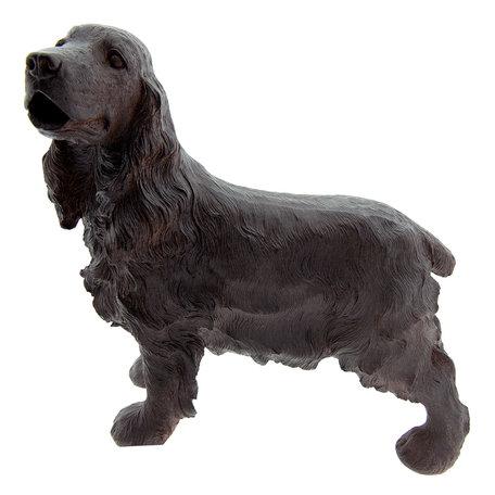 Decoratie hond 37*14*35 cm Bruin | 6PR2323 | Clayre & Eef