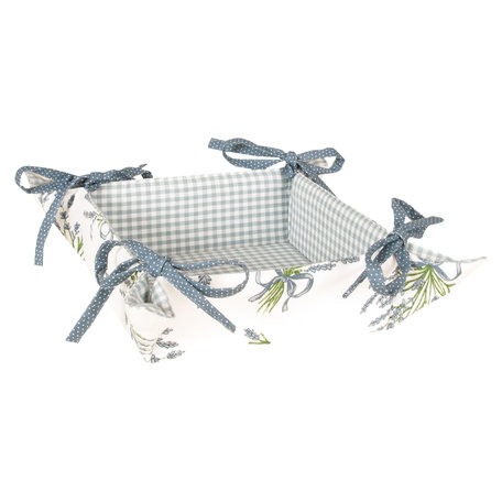 Broodmandje 35*35*8 cm Licht aubergine | BDL47 | Clayre & Eef