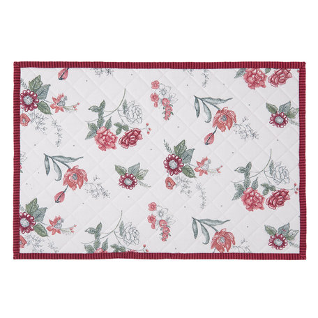 Placemat (6) 48*33 cm Rood | EVF40 | Clayre & Eef